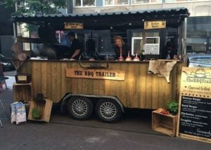 The bbq trailer