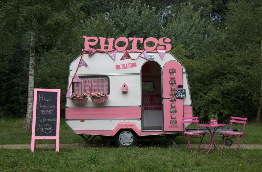 Mobiele photobooth Betsie