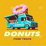Donut Foodtruck Logo