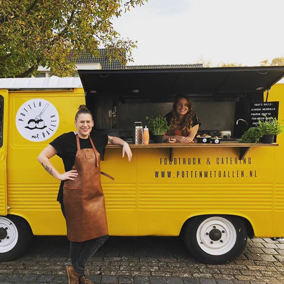 Foodtruck Potten met ballen