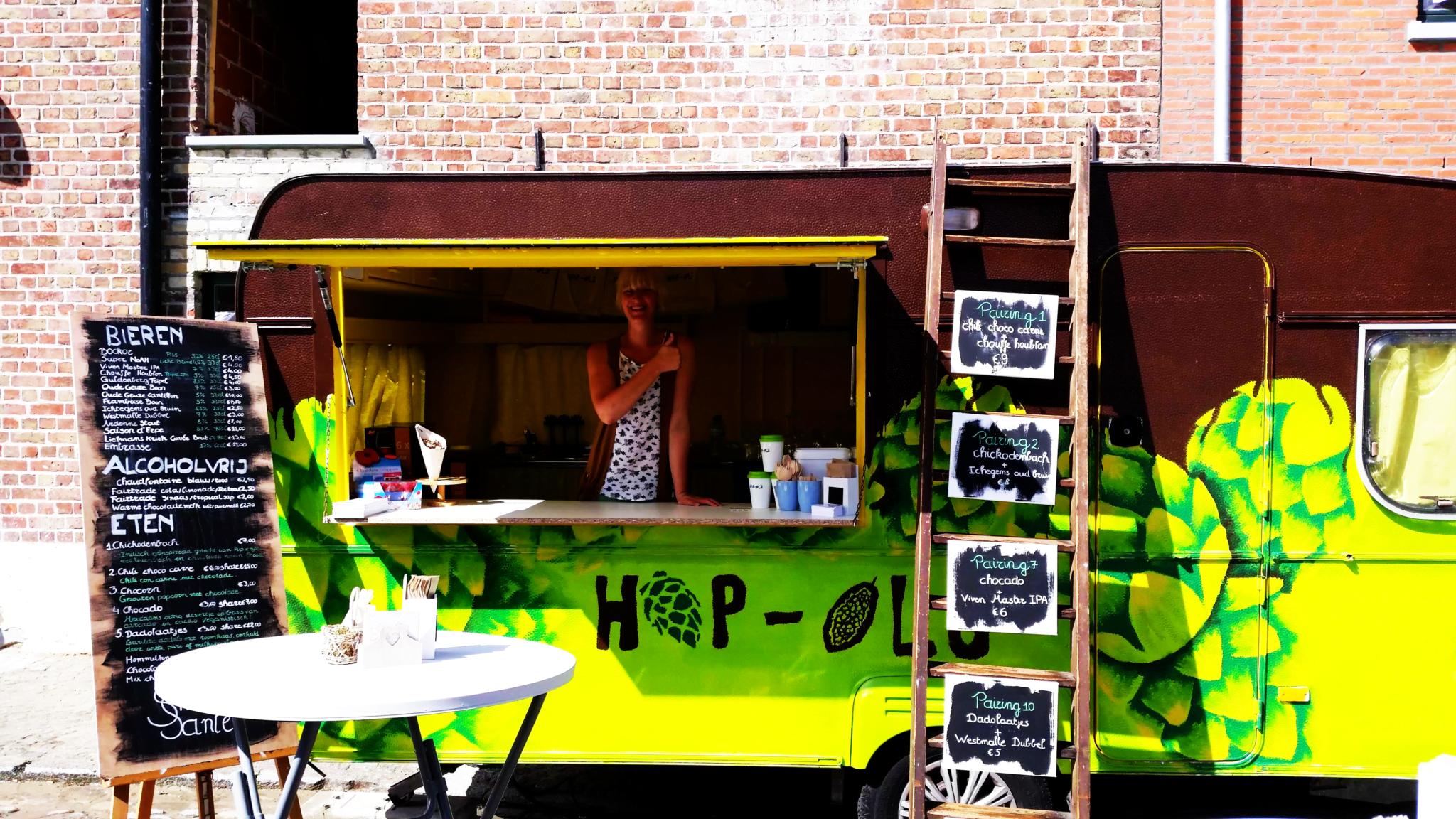 Unieke Foodtruck- Hop-ola