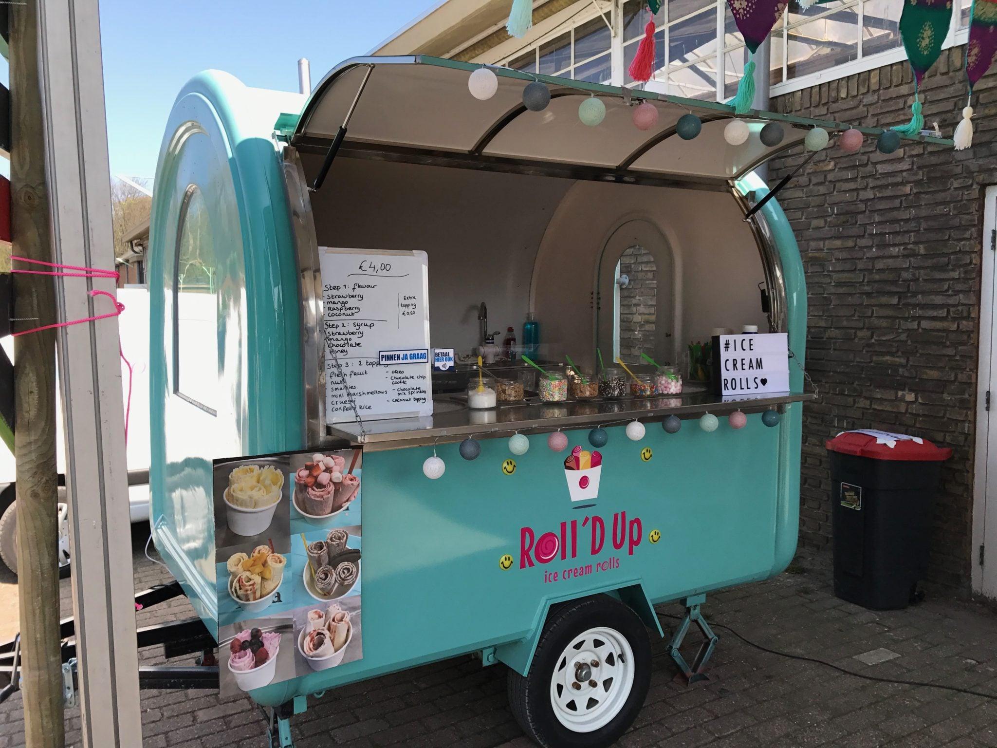 Icecream Rolls Foodtruck - Roll'd Up