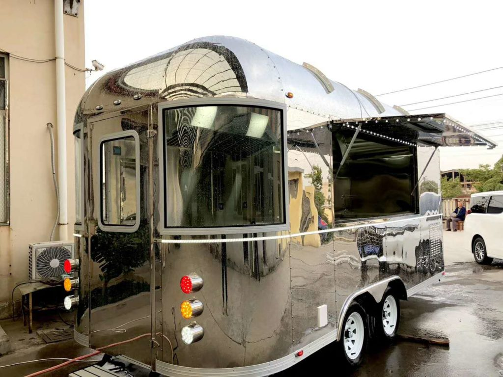 New Airstream Chinese Model upgraded