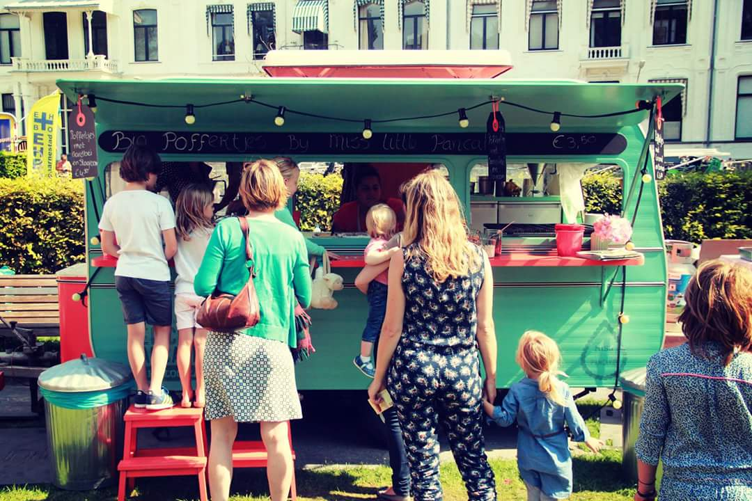 Poffertjes foodtruck Miss Little Pancake
