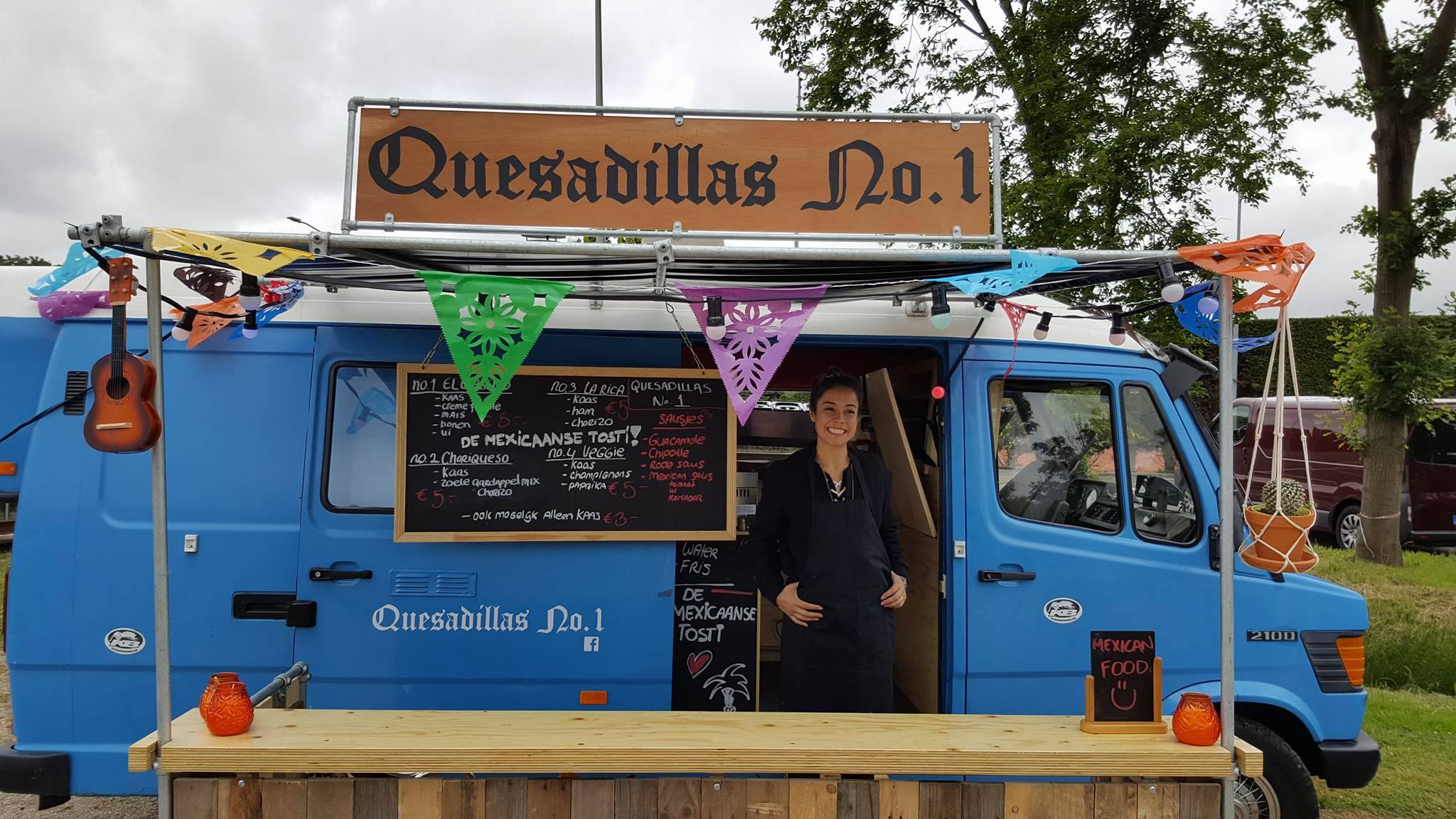 Quesadillas No.1 Mexicaanse food truck
