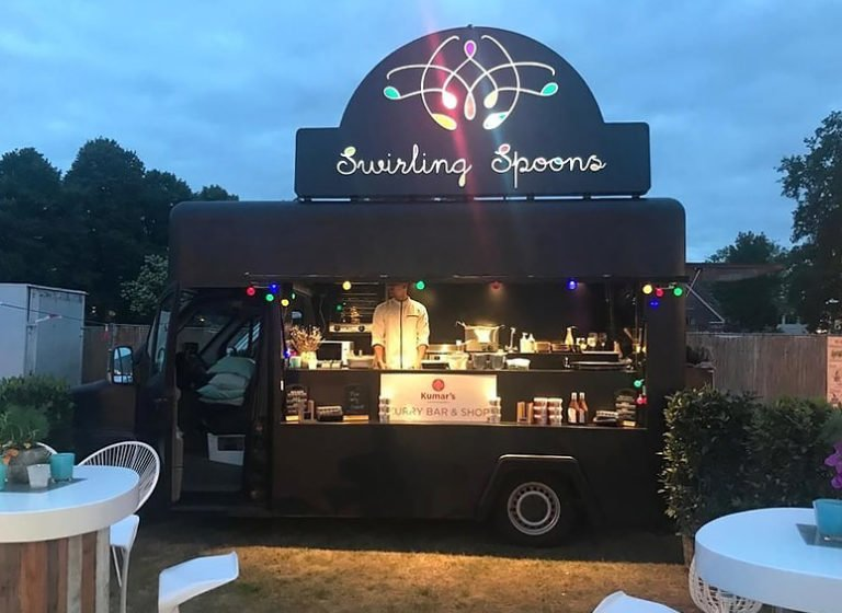 De foodtruck Swirling Spoons