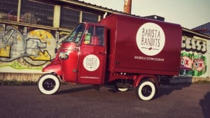 barista bandits koffie truck