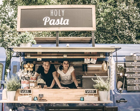 holy pasta foodtruck