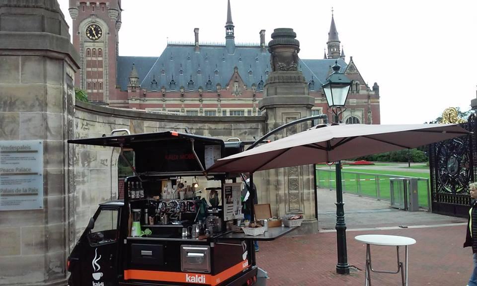 Koffie Foodtruck - de Kaldi mobiel Hilversum