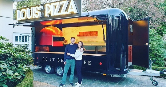 louis pizza foodtruck